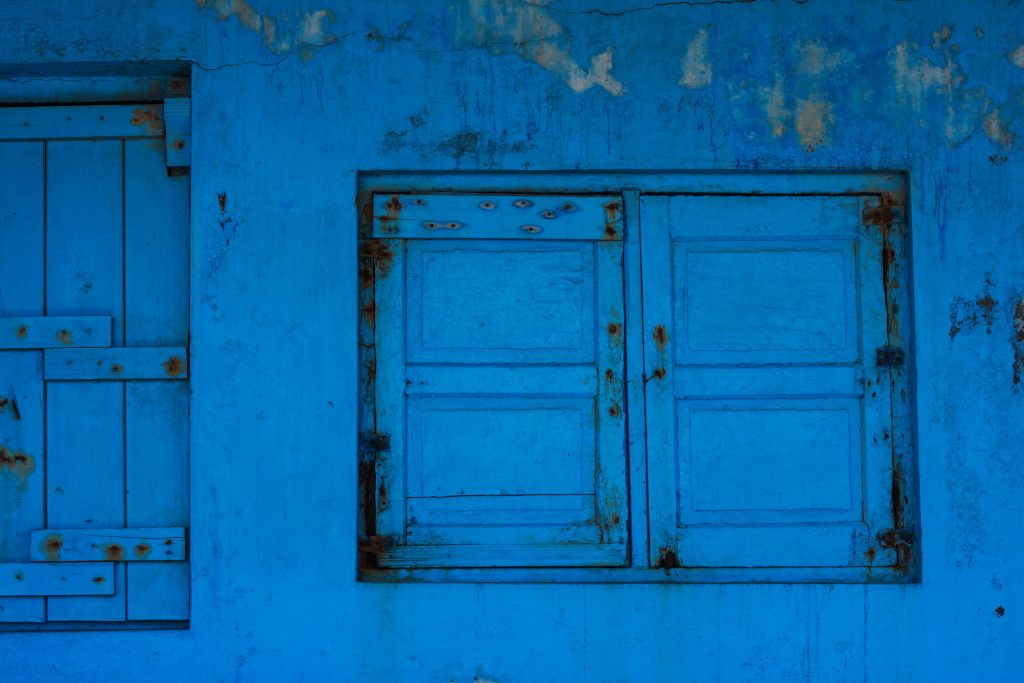 ventana cerrada