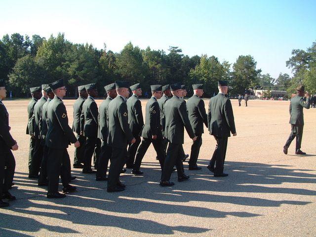 jefe y soldados