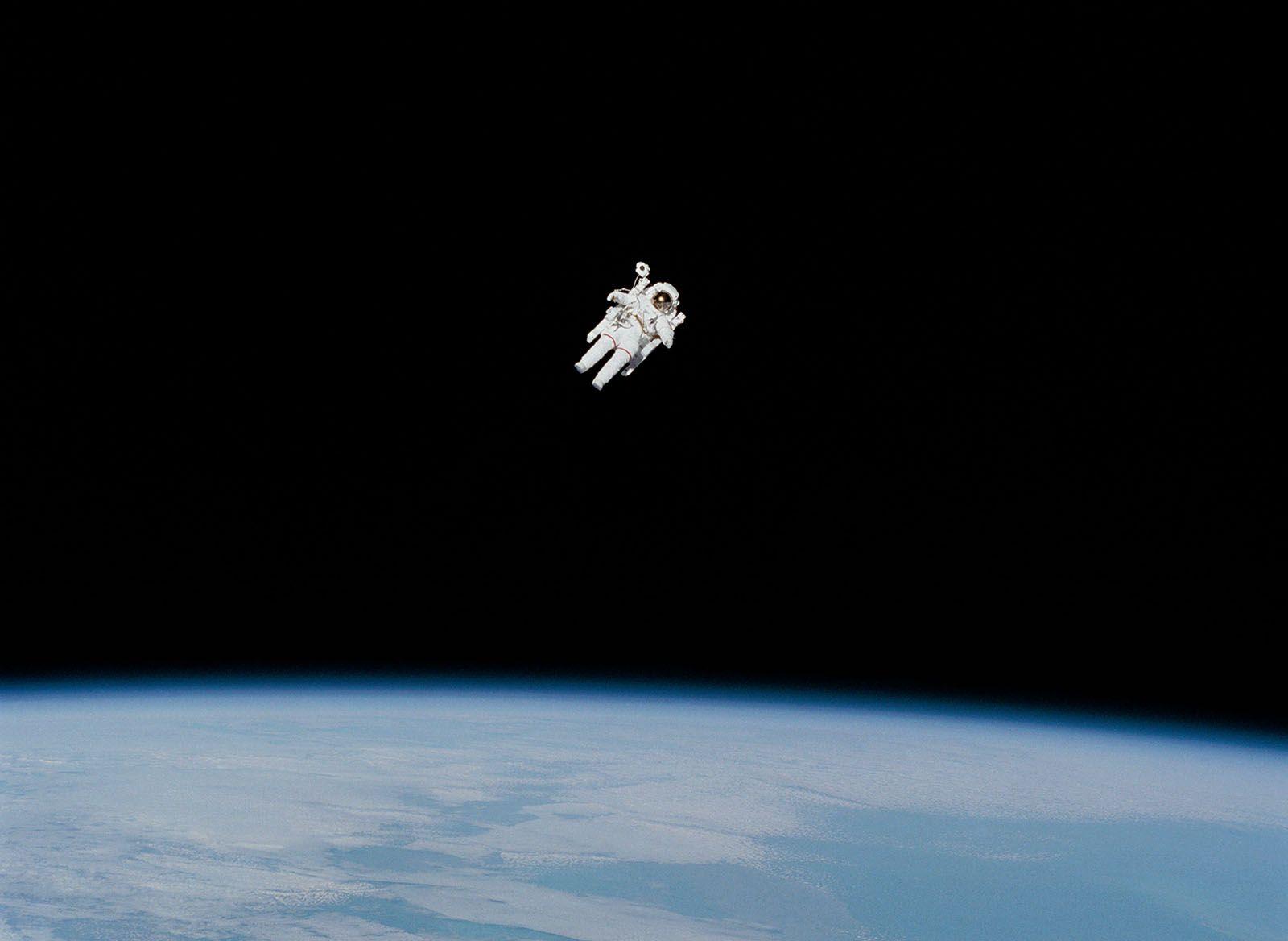 objetivo realista astronauta