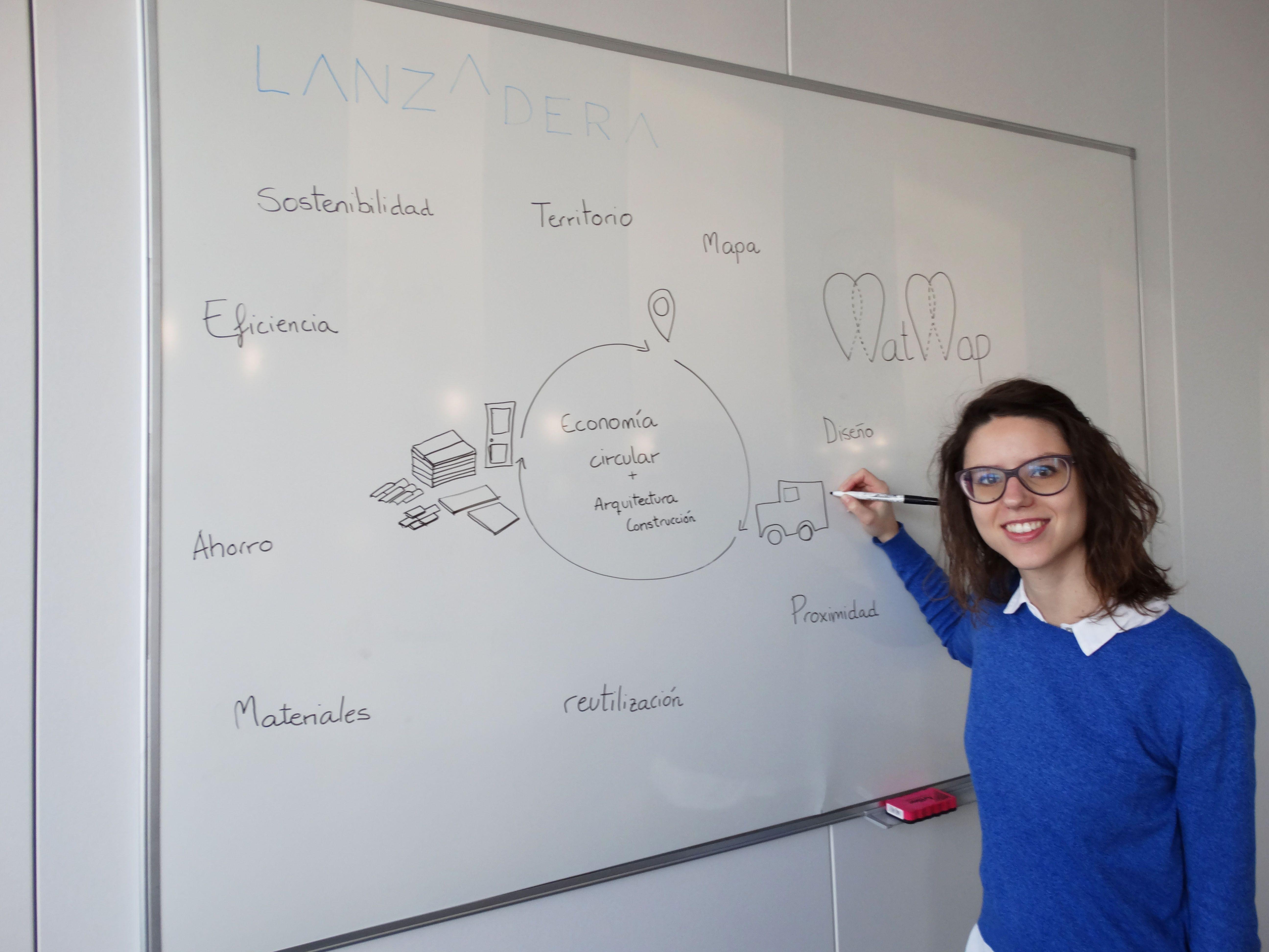 Startup de arquitectura entervista a María Martínez MatMap