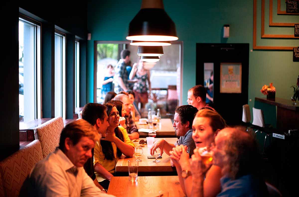 Inglés para arquitectos en el bar