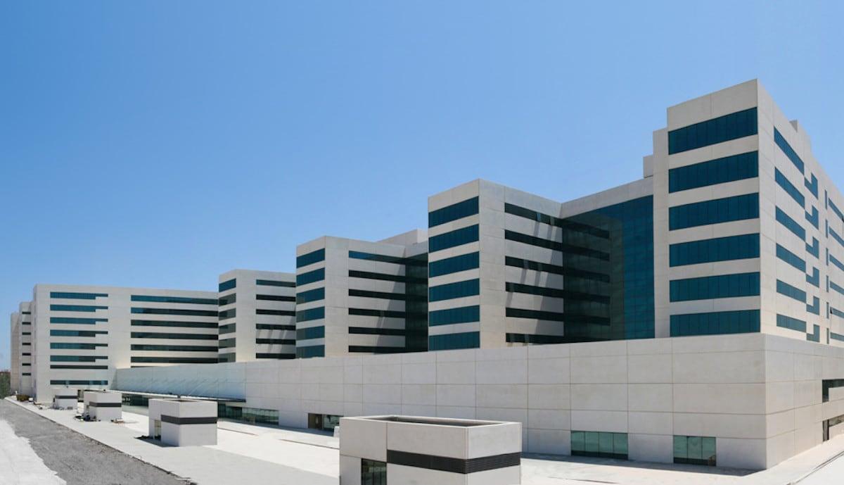 arquitectura hospitalaria La Fe